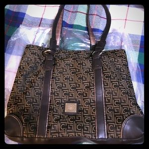 Liz C large organizer tote bag